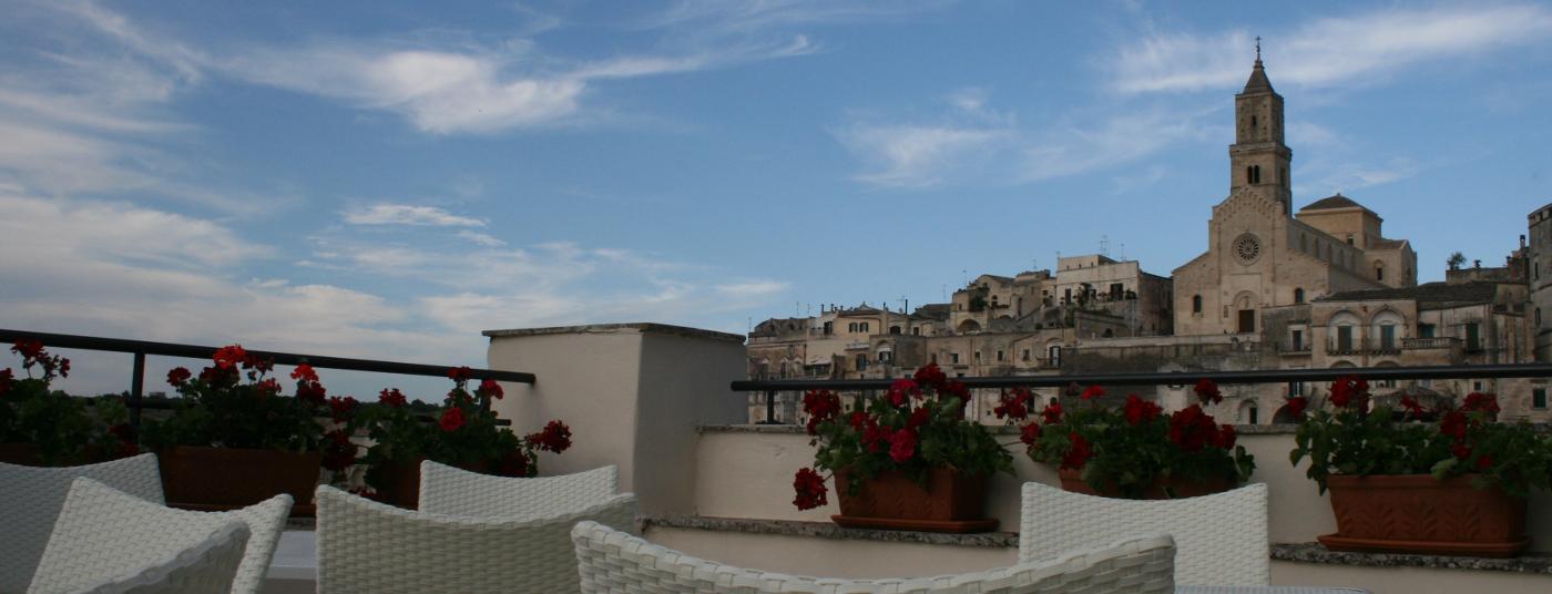 Il terrazzo panoramico